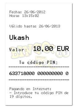 codigos de ukash gratis